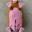 Guinea Pig with Baby Crochet Pattern