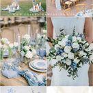 20 Light Blue Wedding Color Ideas for Spring 2021