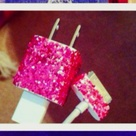 Glitter Phone Chargers
