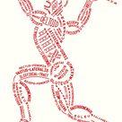 Muscular Typogram