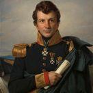 Cornelis Kruseman, 1829 - Portrait of Johannes, Count van den Bosch, Governor - fine art print - Poster print (canvas paper) / 50x60cm - 20x24