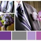 Purple Grey Weddings