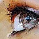 Spectacular Oil Paintings of Twinkling Eyes