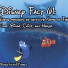Cute Disney Facts