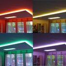 Indirekte Deckenbeleuchtung mit LED Strips