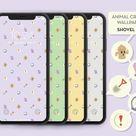 Animal Crossing New Horizons Shovel Variety Pack Wallpaper - iPhone/iPad/Android/Samsung/Pixel/Tablet Digital Download Print