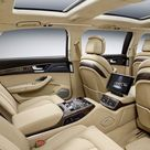 2016 Audi A8 L Extended Interior, Third Row Seats