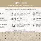 Modern Resume + Cover Letter Word
