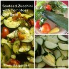Sauteed Zucchini