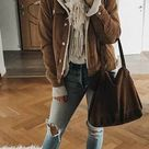 Woman Loose Corduroy Jacket New Thick Winter Lambswool Fur Coat L0045