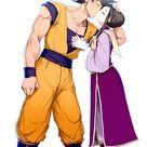 Goku Chi Chi Dragon Ball Z Others Dragones Parejas De Anime Anime Manga