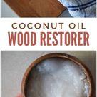 Coconut Oil Wood Restorer