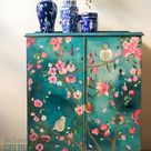Chinoiserie inspired Cupboard