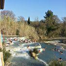 Il primo bagno alle Cascate di Saturnia - Podere Argo