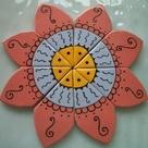 P1  Gorgeous NEW MANDALA  8 pcs  Ceramic Mosaic Tiles | Etsy
