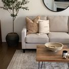NEUTRAL LIVING ROOM STYLING IDEAS