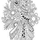Ausmalbilder Für Erwachsene, bild Papagei zum dekorieren