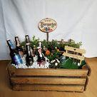 Biergarten basteln und Geschenk für den Vatertag selber machen - Deko & Feiern, DIY - ZENIDEEN