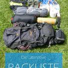 Meine ultimative Packliste fürs Fernwandern