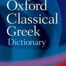 The Pocket Oxford Classical Greek Dictionary : The late James Morwood : 9780198605126