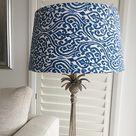 Sombra de lámpara decoración de Lampshade Hampton pantalla | Etsy