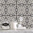 Tile Sticker Kitchen, bath, floor, wall Waterproof & Removable Peel n Stick: A67