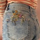 A Pocket Full of Posies   Embroidery PDF & Pattern