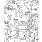 Nice Little Town 4 (Adult Coloring Book, Coloring pages PDF, Coloring Pages Printable, For Stress Relieving, For Relaxation)