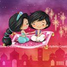 Disney Couples ~ Snow White, Cinderella, Sleeping Beauty, Little Mermaid, Beauty Beast, Aladdin