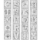 Full alphabet worksheet 2 coloring page | Free Printable Coloring Pages