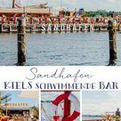 SANDHAFEN: Kiels schwimmende Strandbar