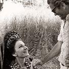 MARIA with Pier Pasolini on the set of Pier Paolo Pasolini film  Medea  in Cappadocia, Turkey - 1969