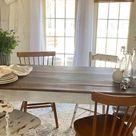 Farmhouse summer tablescape