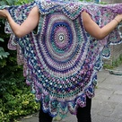 Crochet Circle Vest