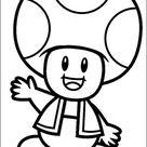Mario Bros Malvorlagen 36