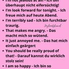 Words in English and German