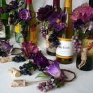 Purple Table Decorations