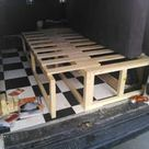Self build side bench bed