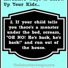 13 Ways To Totally Screw Up Your Kids - Funny Parenting Tips