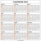 2021 Calendar By Week Number Excel - Calendar Inspiration Design
