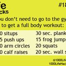 Easy At Home Workouts