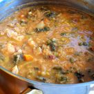 When we traveled to Florence years ago the food I remember most was ribollita, it's a thick and creamy soup with many variations but the main ingredients always include leftover bread, cannellini beans and inexpensive vegetables such as carrot, cabbage, beans, Tuscan kale, onions and a bunch of other things. It was originally made by …
