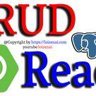 Reactjs SpringBoot CRUD PostgreSQL Example