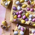 Easter egg blondies