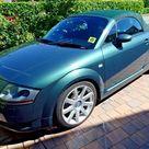 2002 Audi TT Roadster 1.8 225bhp Quattro Convertible Green Genuine 53k miles