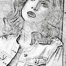 Realistic Pencil Sketch Action 2 23766201 - FreePSDvn