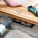 Anleitung: Holz-Terrasse selbst bauen – Beplankung