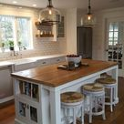 shiplap in the kitchen