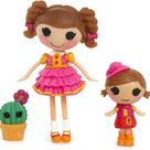 Lalaloopsy Mini Littles Trouble Dusty Trails and Prairie Dusty Trails Doll