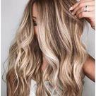 dirty blonde hair balayage light brown
